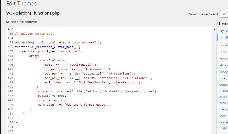 Easy way to register custom post type in WordPress